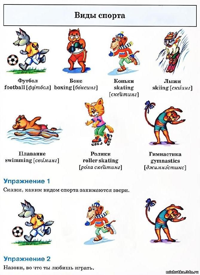 Сценарий на английском для дошкольников