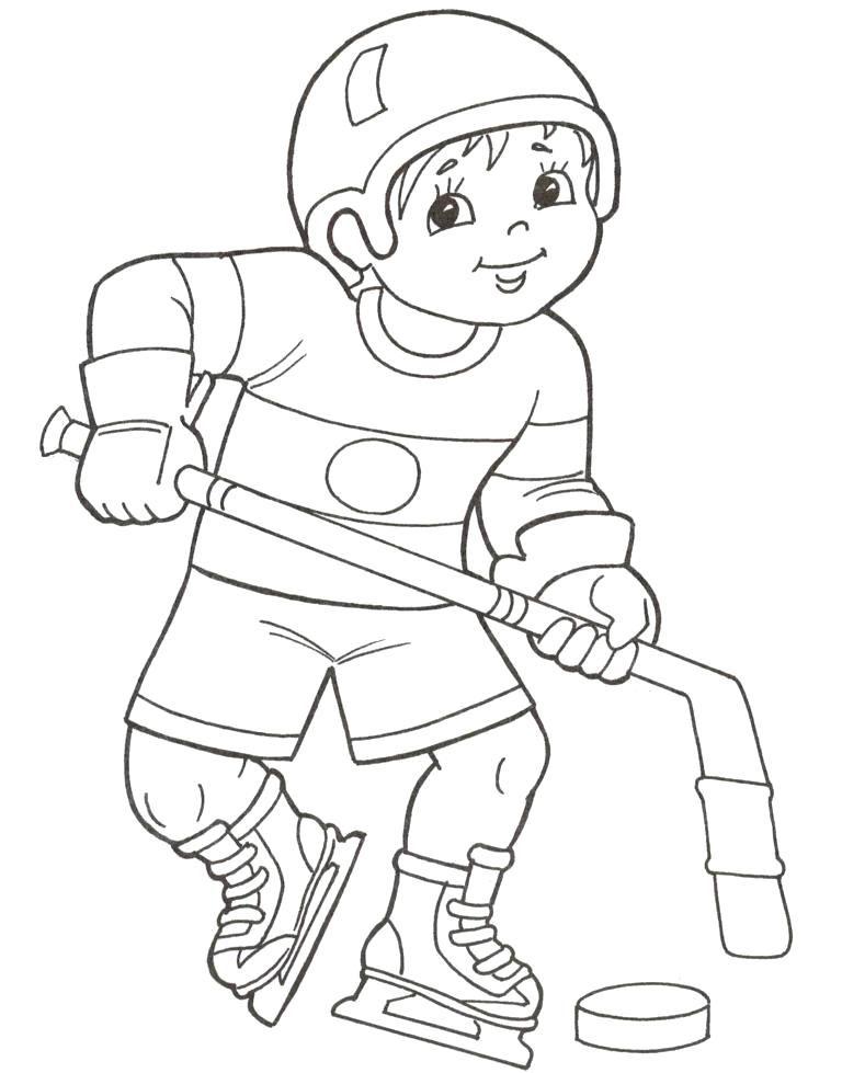 Раскраски зимние виды спорта скачать бесплатно 124